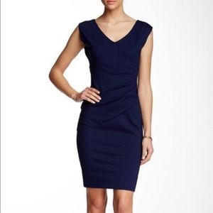 Diane Von Furstenberg Navy Dress Size 12